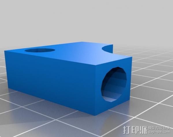 小的摄像机稳定 3D模型  图4