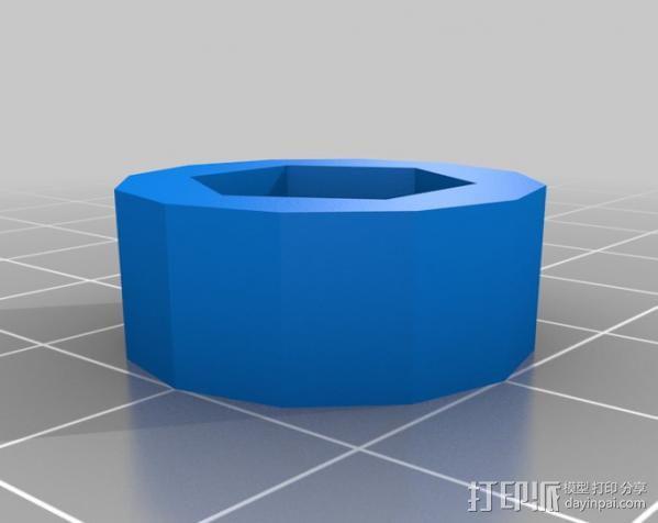 小的摄像机稳定 3D模型  图7