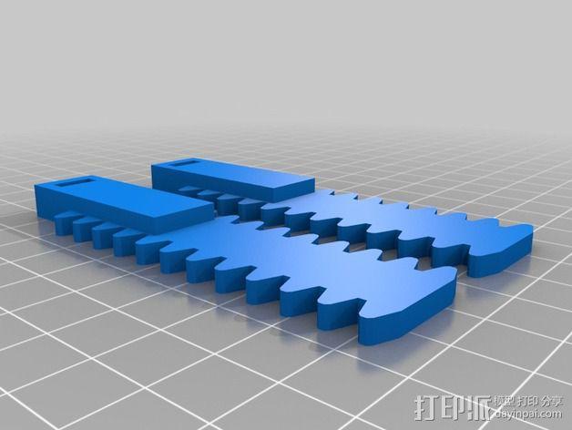 铰接板盒子 3D模型  图5