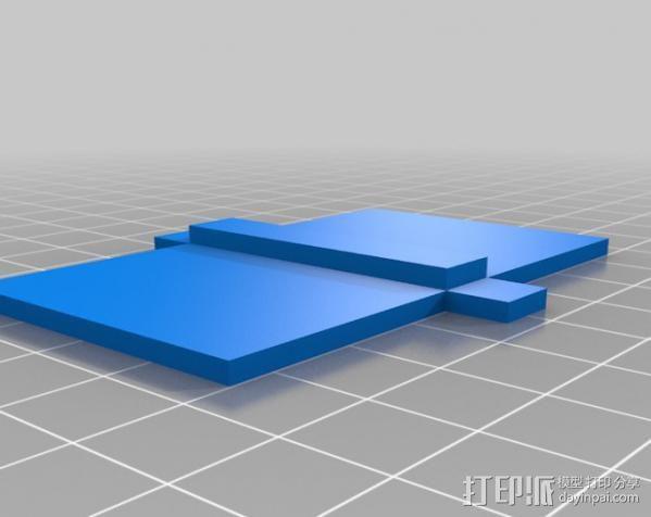 铰接板盒子 3D模型  图7