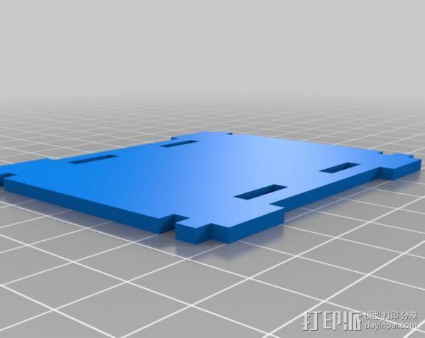 铰接板盒子 3D模型  图6