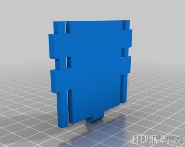 铰接板盒子 3D模型  图9