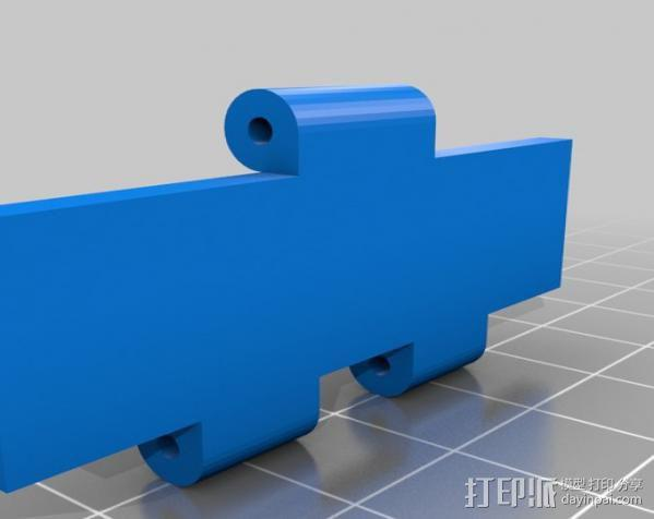 铰接板盒子 3D模型  图10