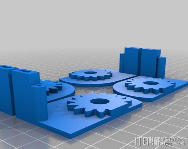 铰接板盒子 3D模型  图13