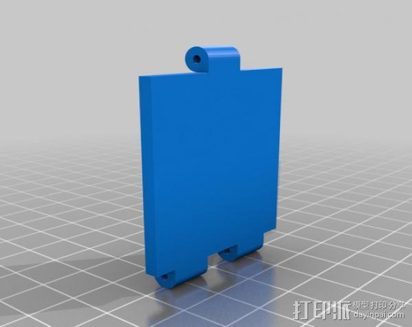 铰接板盒子 3D模型  图14