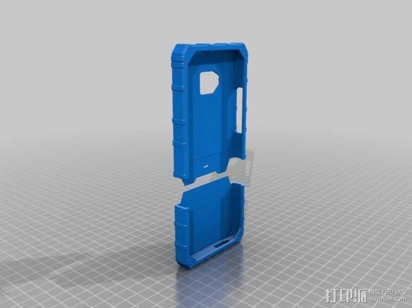 HTC One手机外框 手机套 3D模型  图1