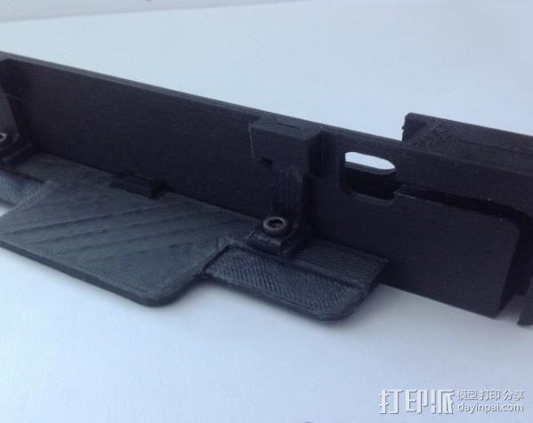 车载式iPhone5手机座 3D模型  图10