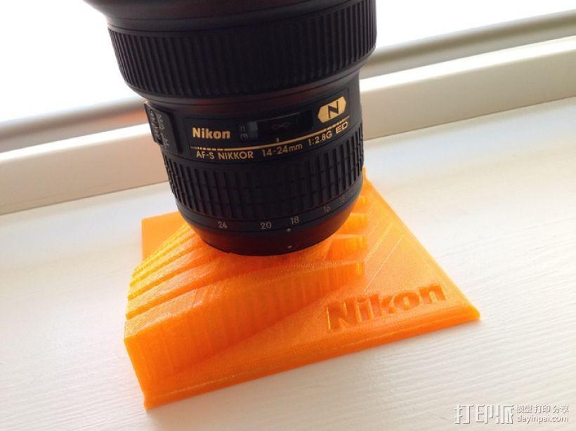 Nikon 相机镜头架 3D模型  图1