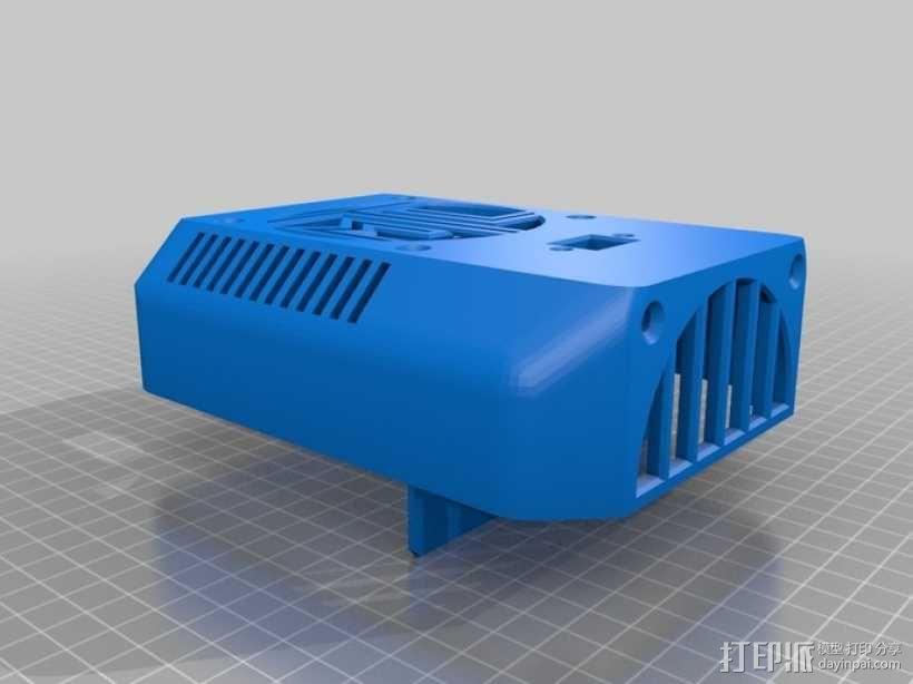 桌面热换器外罩 3D模型  图5