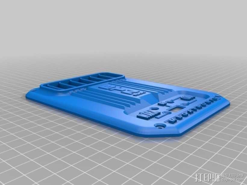 桌面热换器外罩 3D模型  图4