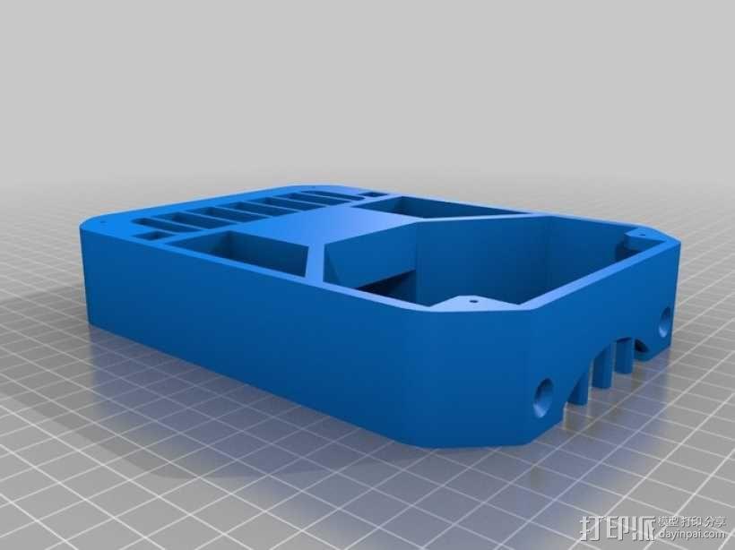 桌面热换器外罩 3D模型  图8