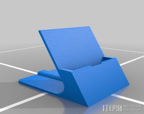 通用式手机支架 3D模型  图1