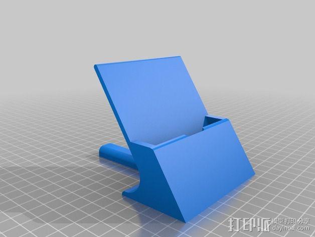 通用式手机支架 3D模型  图4