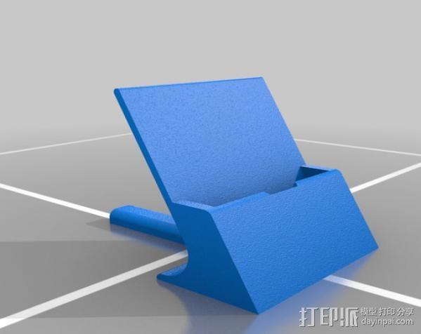 通用式手机支架 3D模型  图6