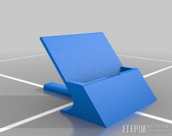 通用式手机支架 3D模型  图12