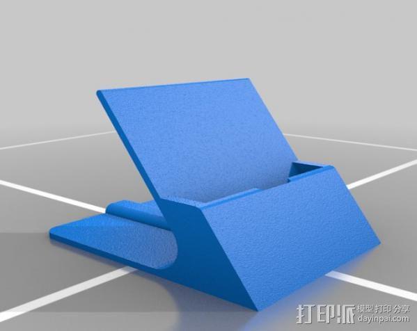 通用式手机支架 3D模型  图11
