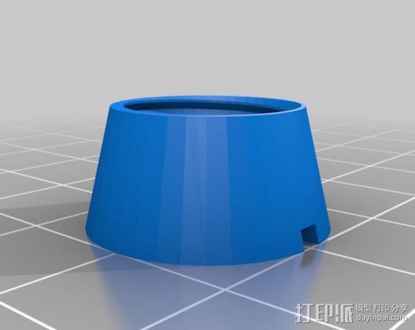 Ipad3 平板电脑支撑架 3D模型  图2
