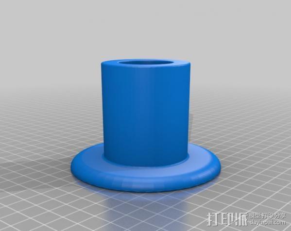Ipad3 平板电脑支撑架 3D模型  图3
