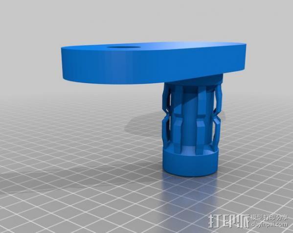 Ipad3 平板电脑支撑架 3D模型  图4