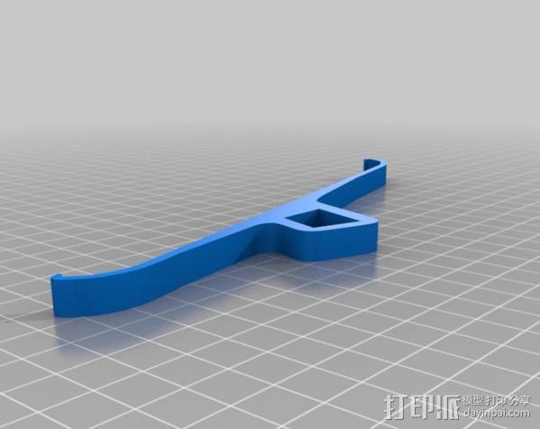 Ipad3 平板电脑支撑架 3D模型  图9