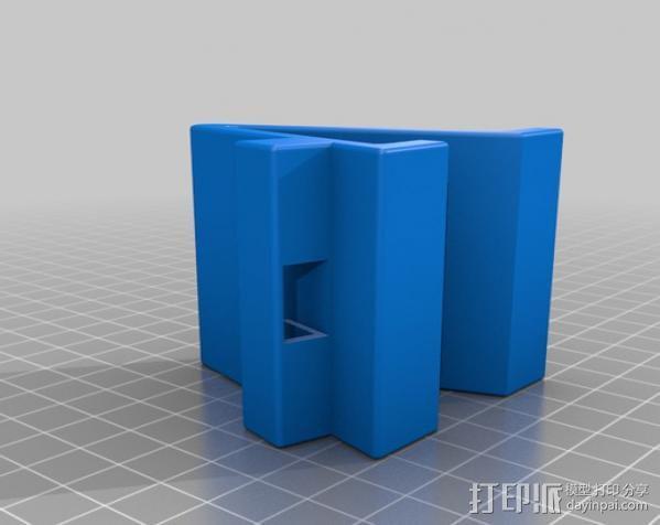 iPhone 4手机架 3D模型  图2