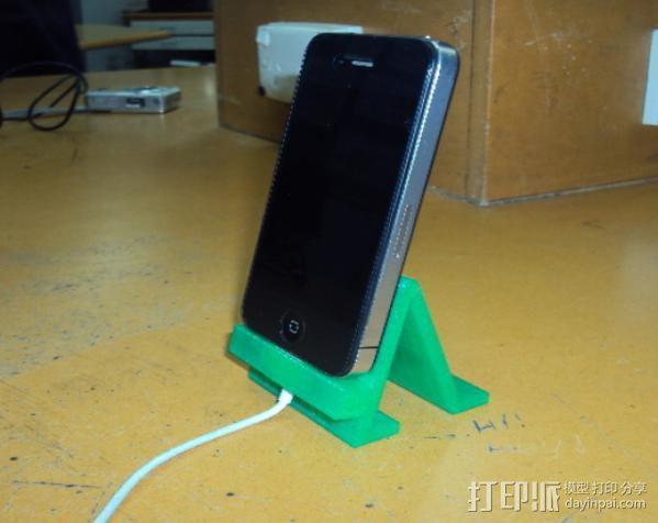 iPhone 4手机架 3D模型  图4
