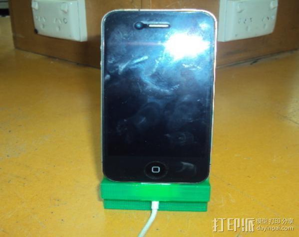 iPhone 4手机架 3D模型  图6