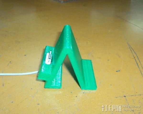 iPhone 4手机架 3D模型  图7