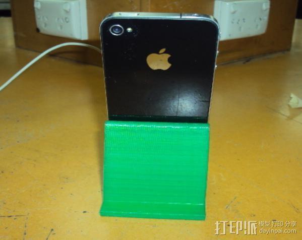 iPhone 4手机架 3D模型  图8