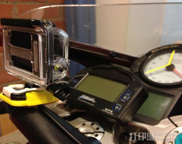 GoPro相机球形底座 3D模型  图3