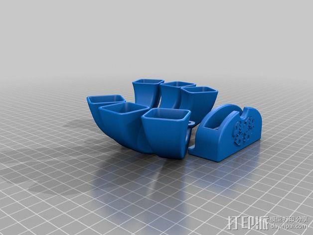 iPhone手机扩音器 3D模型  图2