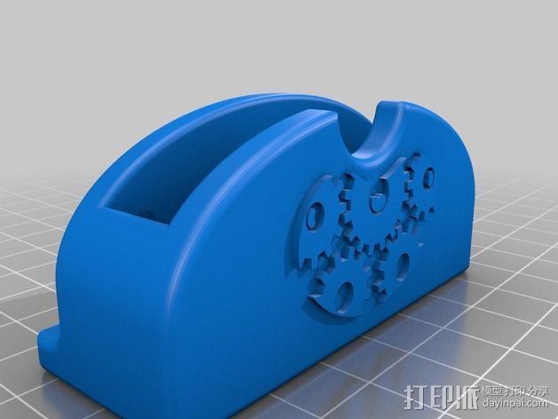 iPhone手机扩音器 3D模型  图3