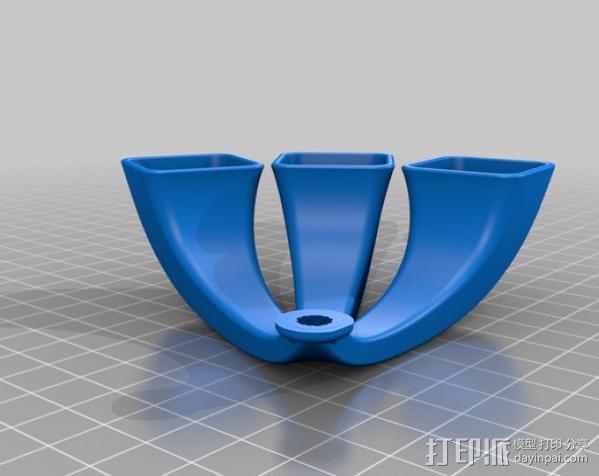 iPhone手机扩音器 3D模型  图4