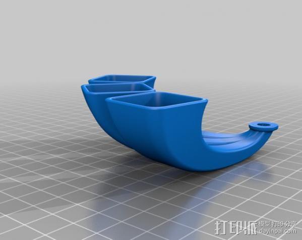 iPhone手机扩音器 3D模型  图5