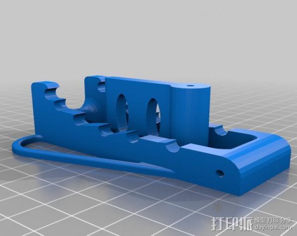 可调角度的iPhone手机架 3D模型  图3