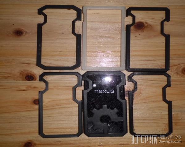 Nexus 4手机外壳 3D模型  图1