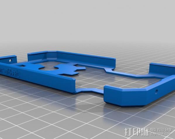 Nexus 4手机外壳 3D模型  图3