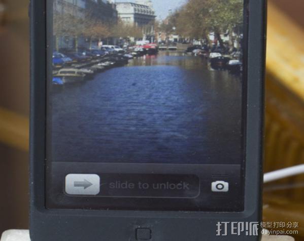 iPhone5手机充电座 3D模型  图4