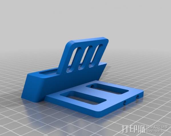 iPhone5手机充电座 3D模型  图5