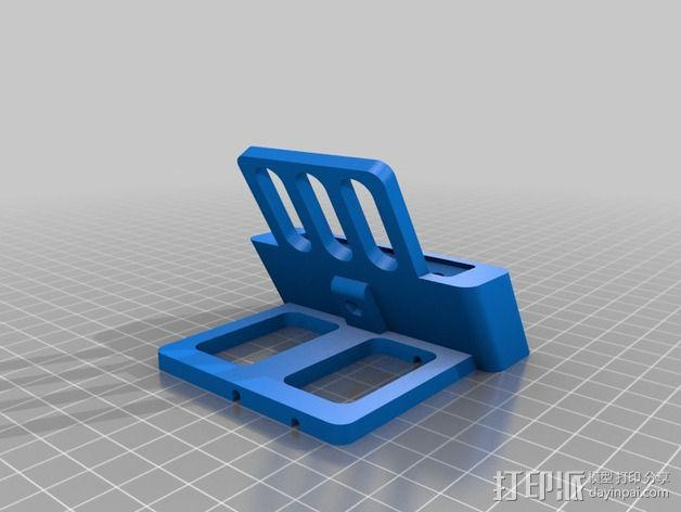 iPhone5手机充电座 3D模型  图2