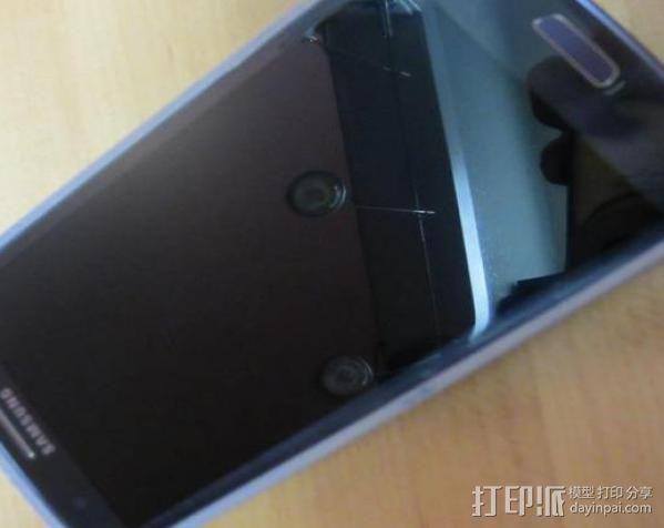 塔迪斯三星Galaxy S3手机套 3D模型  图7
