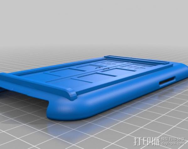 塔迪斯三星Galaxy S3手机套 3D模型  图9
