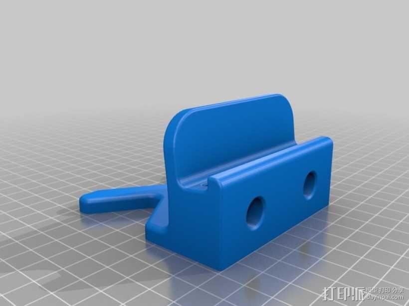 iPhone 5 / iPad Mini 支撑架 3D模型  图1