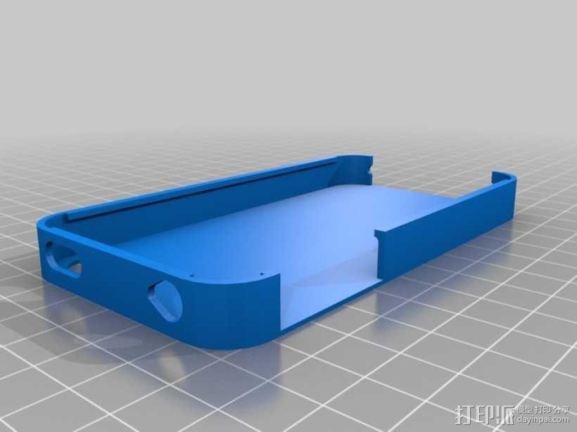 iPhone 4s 手机外壳 3D模型  图1