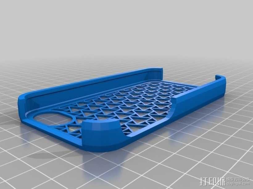 镂空iPhone手机套 3D模型  图1