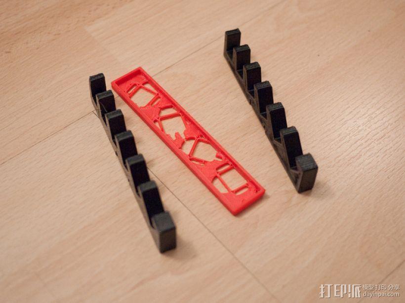 平板电脑/手机支撑架 3D模型  图6
