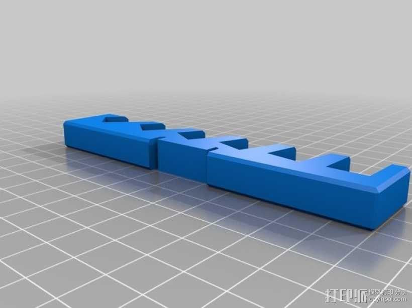 平板电脑/手机支撑架 3D模型  图10