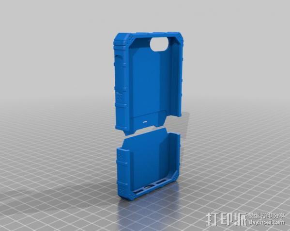 福音战士iPhone 5 手机保护套 3D模型  图1
