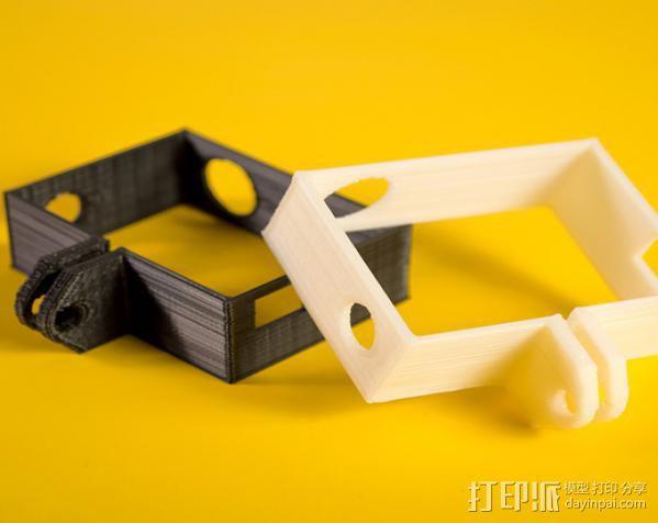 GoPro Hero3相机外框保护壳 3D模型  图2