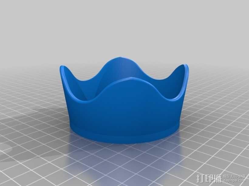 佳能相机镜头遮光罩 3D模型  图1